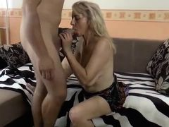 Horny Mom fucking with youg-guy