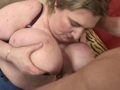 Mature moms talk young boys into fucking their old holes