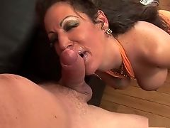 Crazy pornstar Anjelica Lauren in exotic mature, big tits sex scene