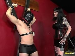 Amazing pornstars Levi Cash, Freyja Van Siren in Horny Brunette, BDSM sex video