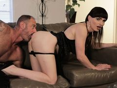 Hot ts babe Natalie Mars hunger for great bigcocks