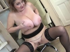 Sweet mature mother with big tits and ass