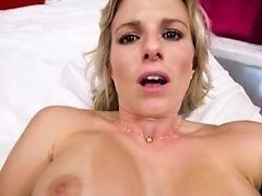 Busty mom Cory Chase fucks with young man