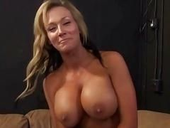 Sexual mom with massive hooters hardly fucks