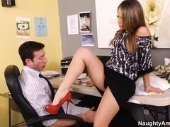 Russian amateur porn at work