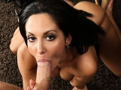 Magnificent Ava Addams takes in mouth huge dick of Danny Mountain in pov