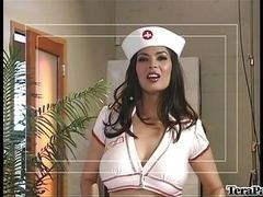 Sexual nurse makes cool cocksucking point of view