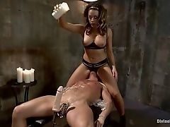 Sexual slave in the power of his mistress