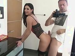 Sexual milf receives full Rocco