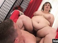 fat mom gets had sex on the couch
